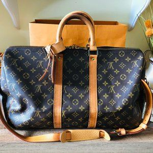 Monogram Canvas Keepall 45 Bandouliere